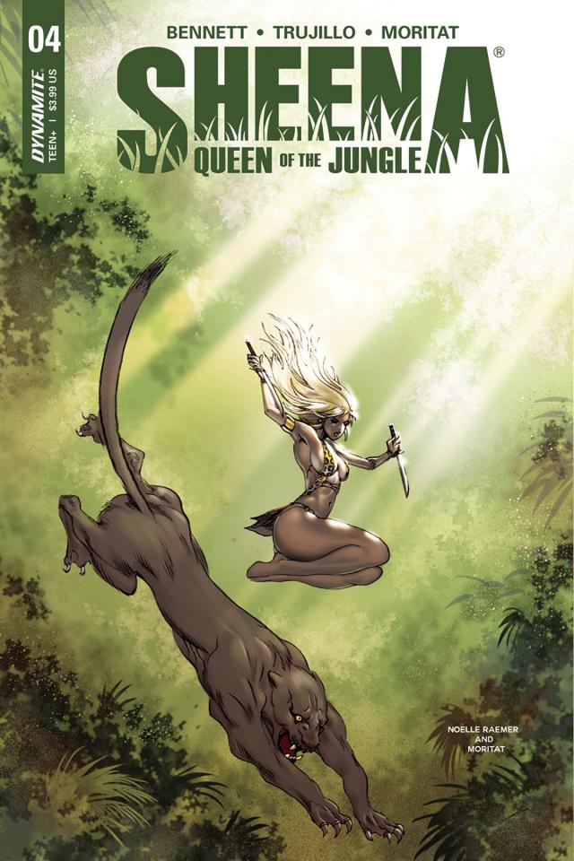 Sheena #4 (Moritat Cover)