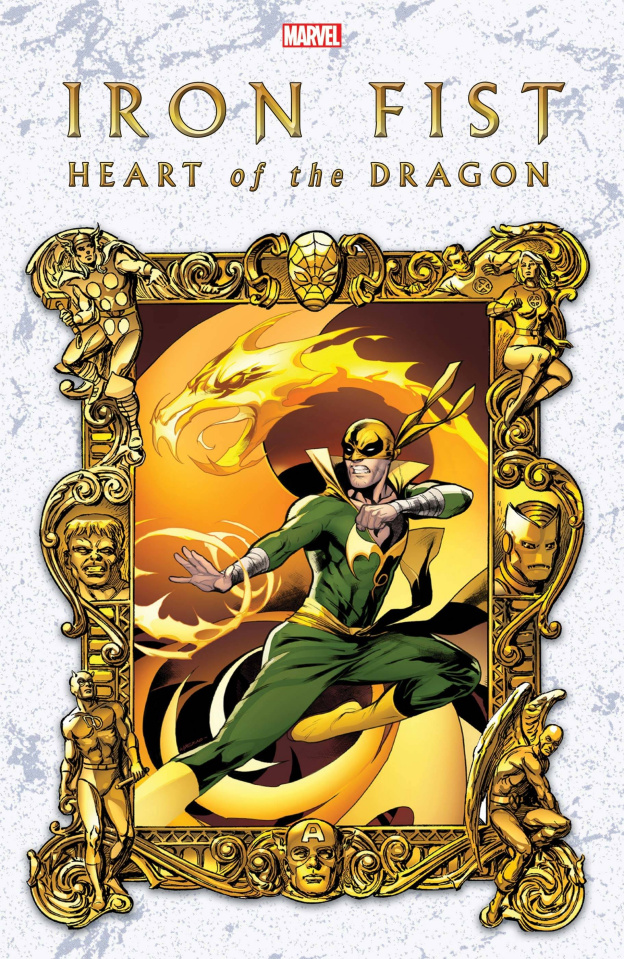 Iron Fist: Heart of the Dragon #2 (Lupacchino Cover)