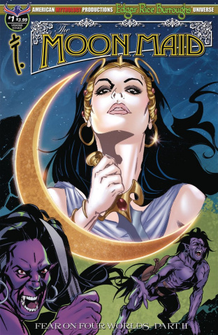 Moon Maid #1 (Rearte Visions of the Moon Cover)