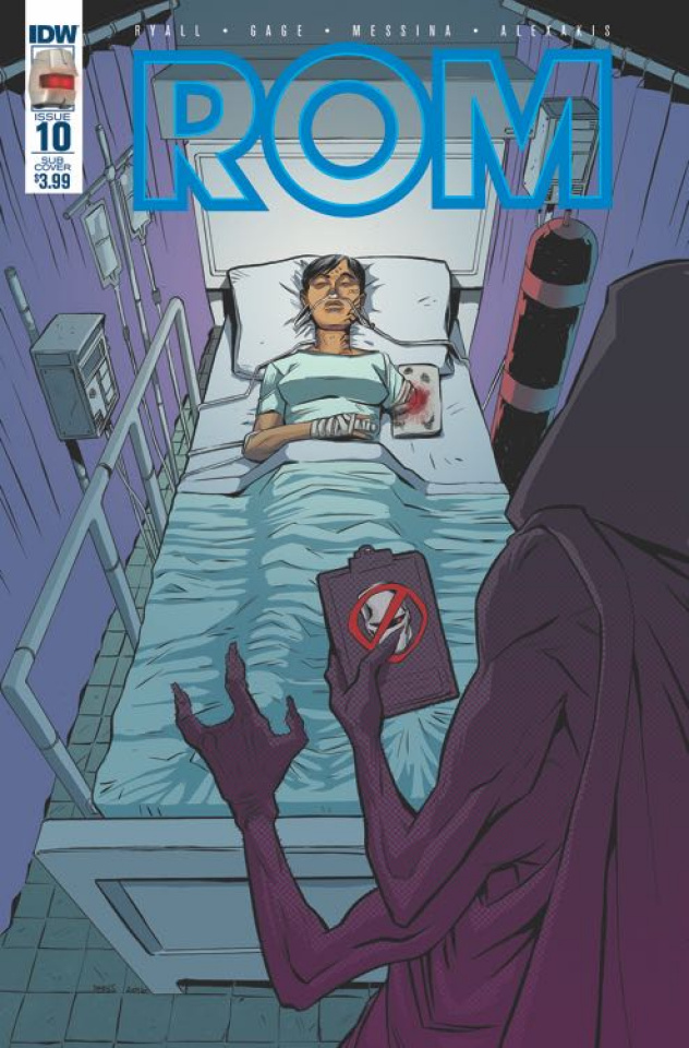 ROM #10 (Subscription Cover)