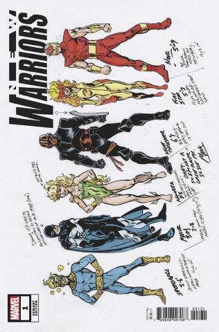 New Warriors #1 (Hidden Gem Cover)