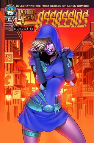 Executive Assistant: Assassins #13 (Hanson Cover)