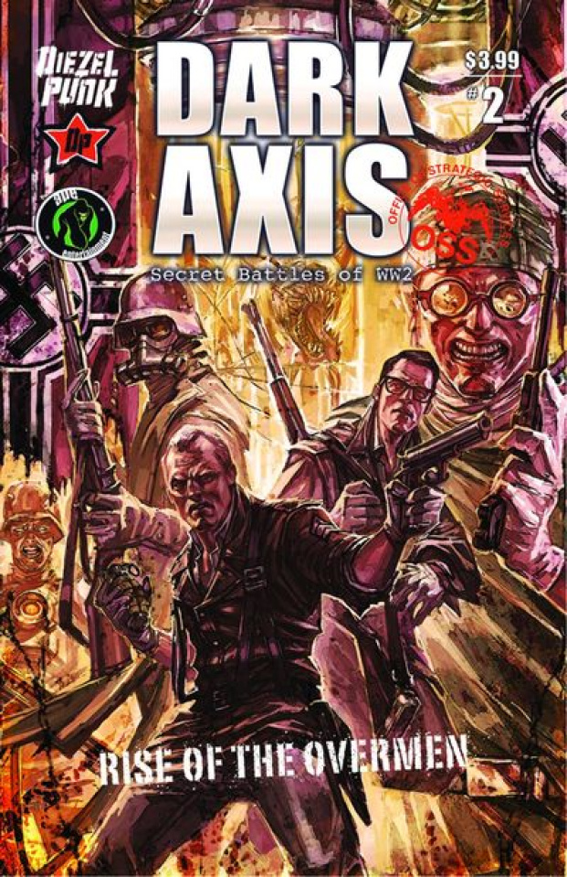 Dark Axis: Rise of the Overmen #2