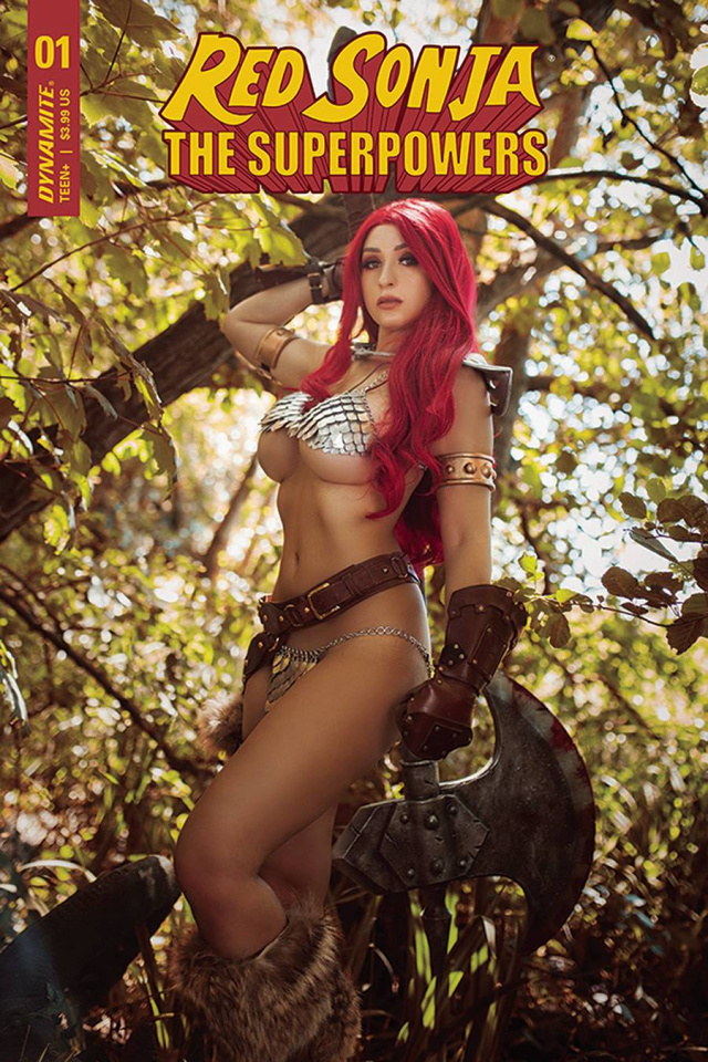 Red Sonja: The Superpowers #1 (Lyons Cosplay Cover)