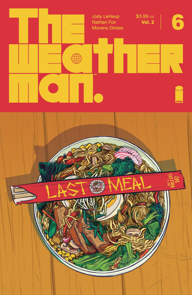The Weatherman #6 (Fox Cover)
