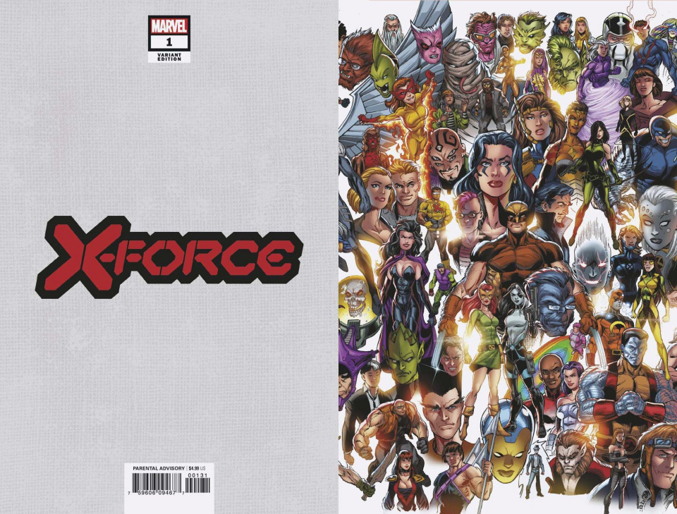 X-Force #1 (Bagley Every Mutant Ever Cover)