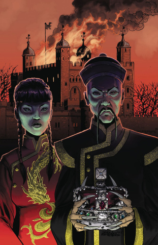 Anno Dracula #5 (Zornow Cover)