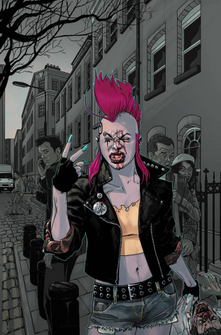 Punk Mambo #0 (20 Copy Cover)