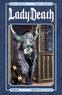 Lady Death #25 (Country Cover)