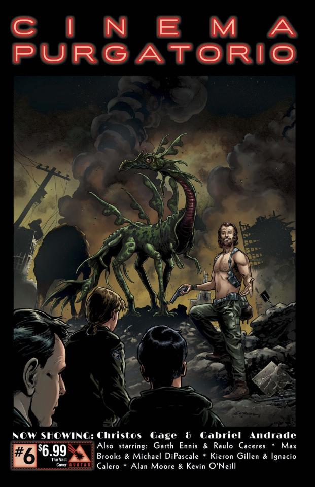 Cinema Purgatorio #6 (Vast Cover)
