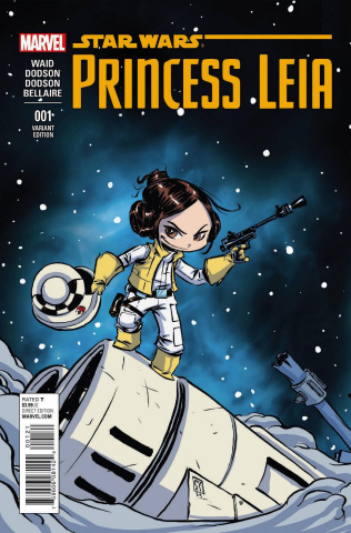 Princess Leia #1 (Young Cover)