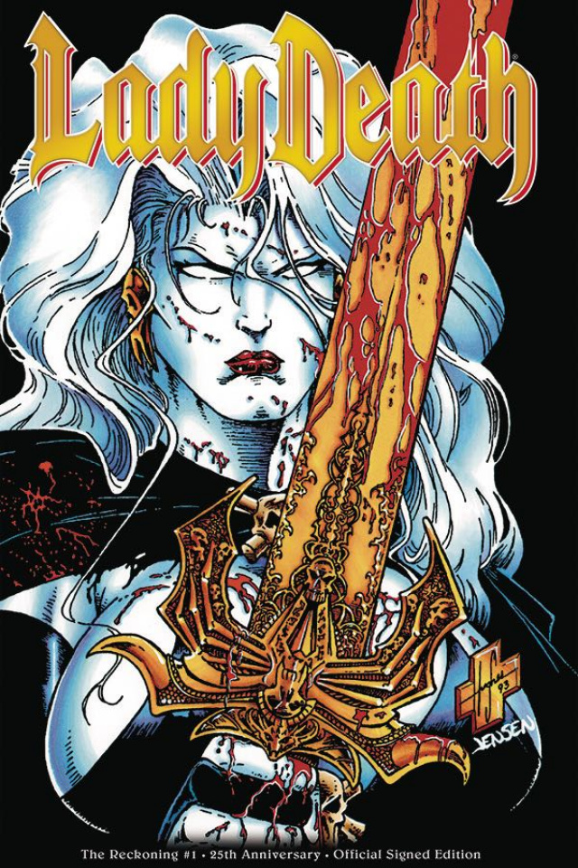 Lady Death: The Reckoning #1 (25th Anniversary Signed Edition)