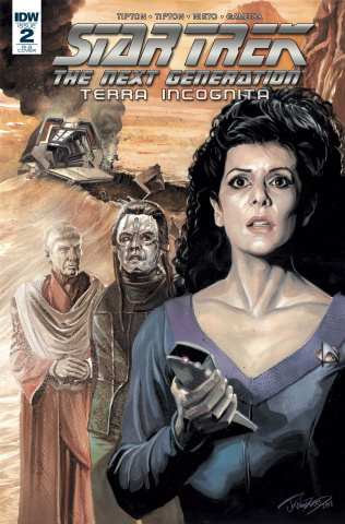 Star Trek: The Next Generation - Terra Incognita #2 (25 Copy Woodward Cover)