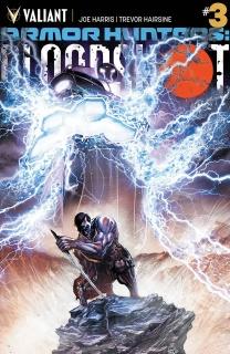 Armor Hunters: Bloodshot #3 (Tan Cover)