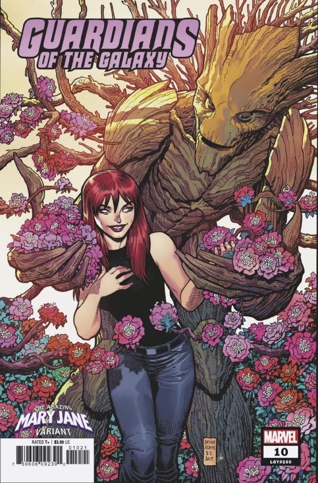 Guardians of the Galaxy #10 (Adams Mary Jane Cover)
