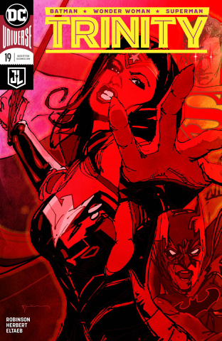 Trinity #19 (Variant Cover)