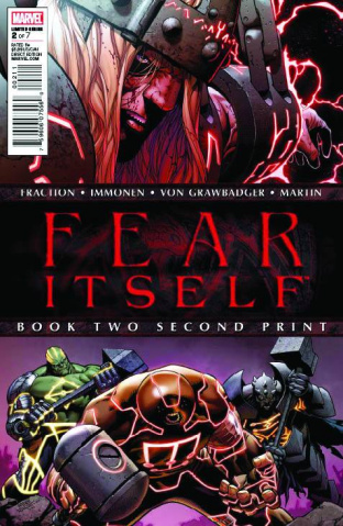 Fear Itself #2 (2nd Printing)