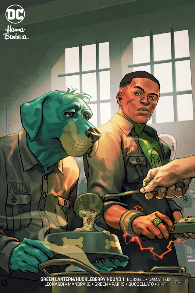 Green Lantern / Huckleberry Hound Special #1 (Variant Cover)