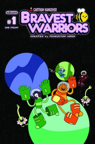 Bravest Warriors #1 (2nd Printing)