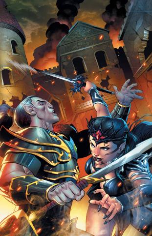 Myths & Legends Quarterly: The Dark Princess #3 (Coccolo Cover)