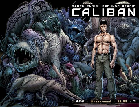 Caliban #4 (Wrap Cover)