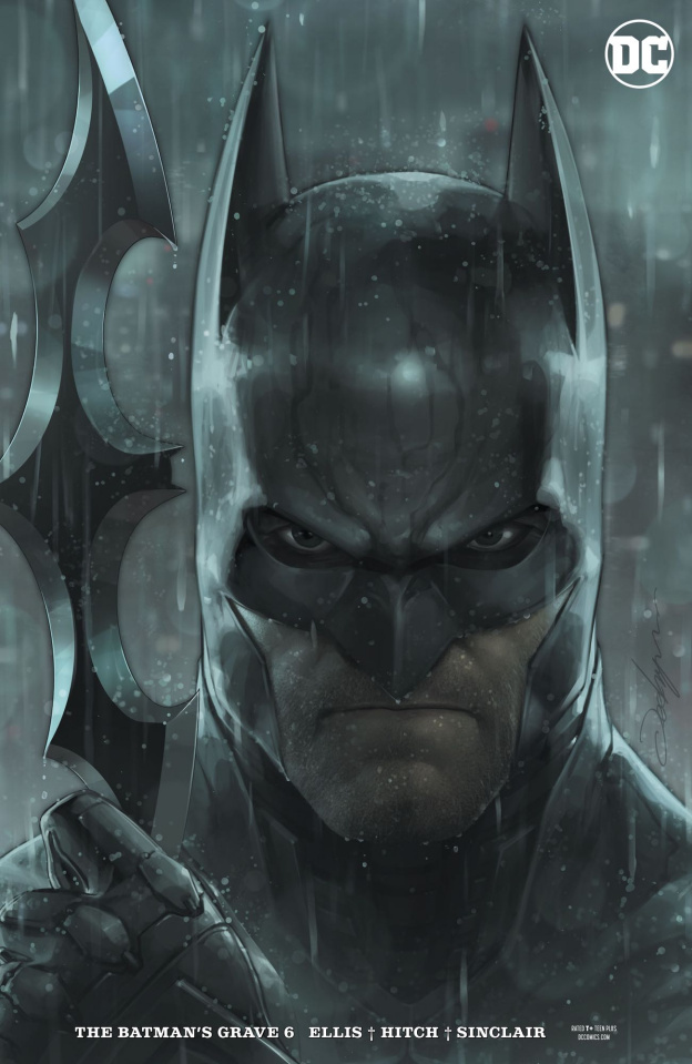 The Batman's Grave #6 (Jeehyung Lee Cover)
