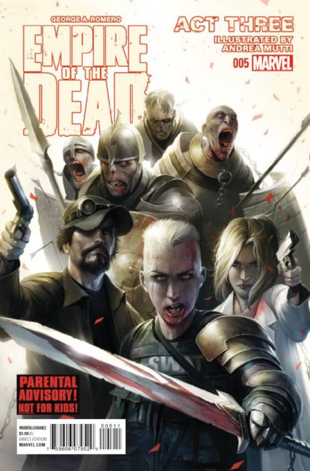 Empire of the Dead: Act Three #5