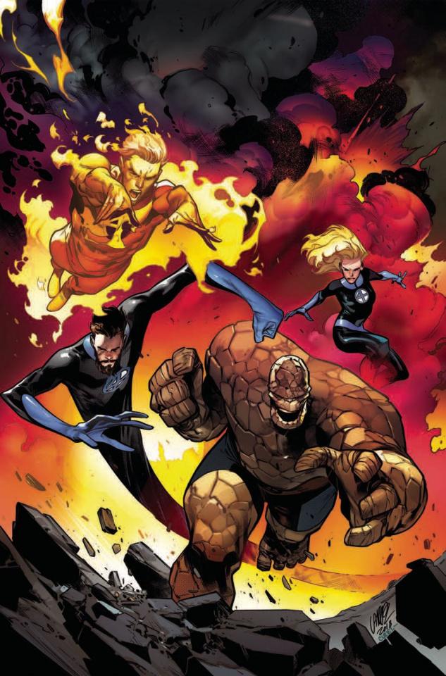 Fantastic Four #11 (Larraz Virgin Cover)