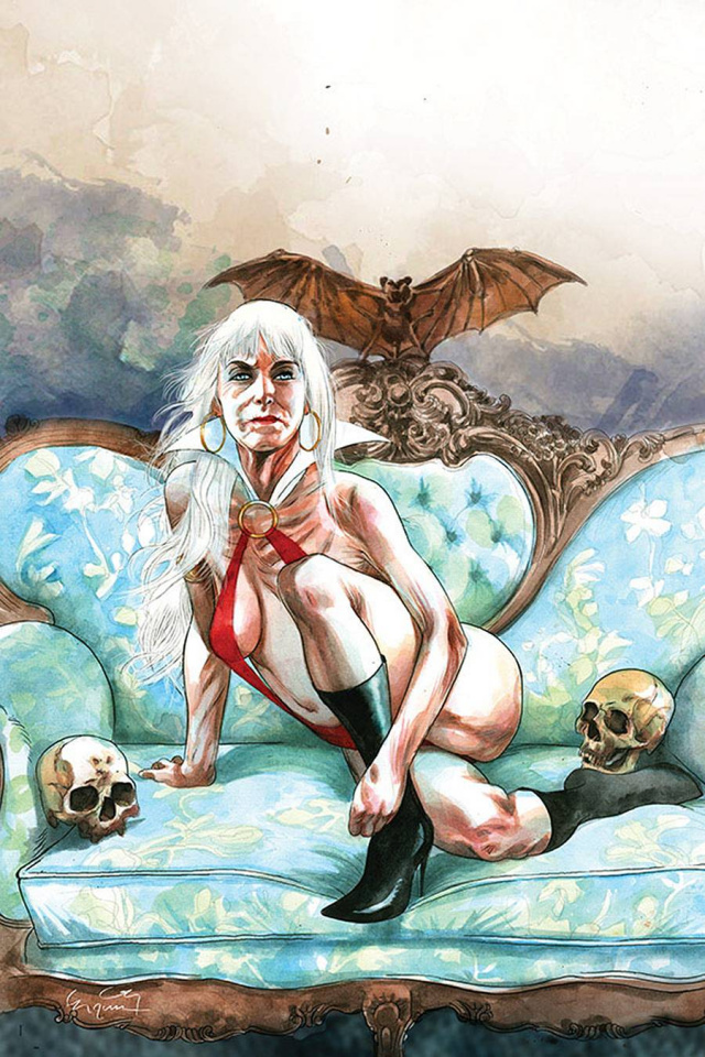 Vampirella #16 (30 Copy Gunduz Virgin Cover)