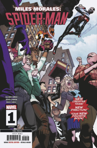 Miles Morales: Spider-Man #1 (Garron 3rd Printing)