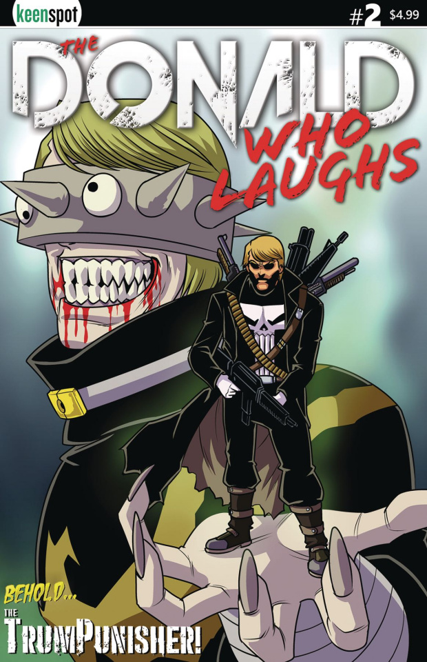 The Donald Who Laughs #2 (Trumpunisher Cover)