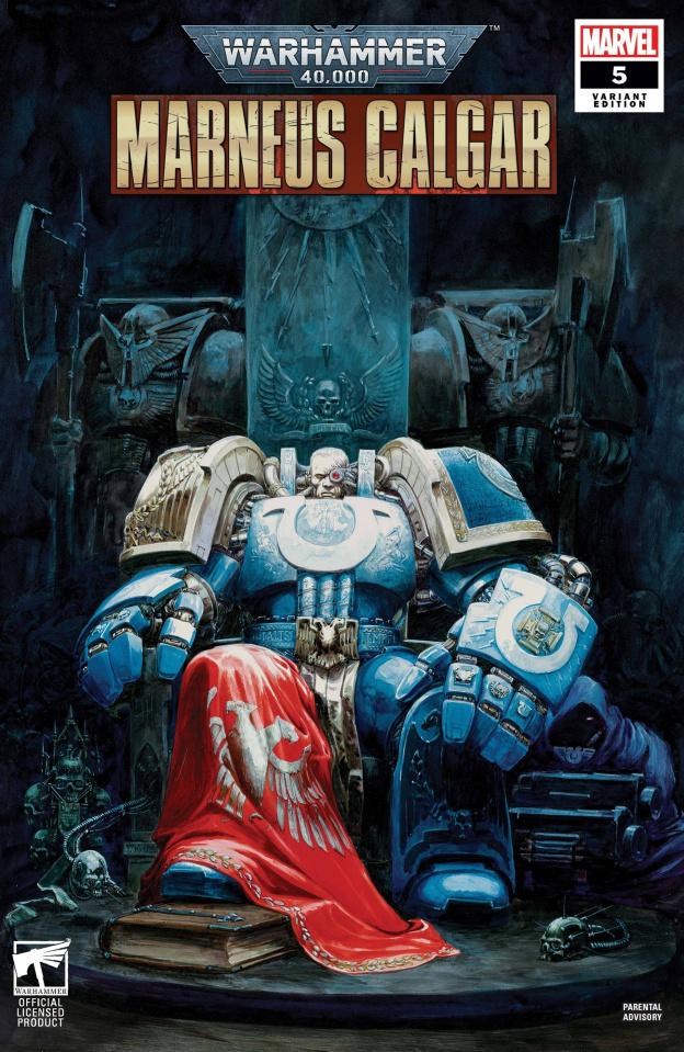 Warhammer 40,000: Marneus Calgar #5 (Games Workshop Cover)