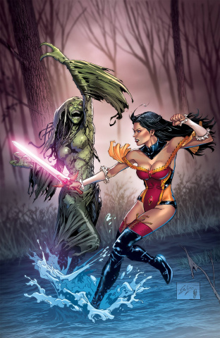 Grimm Fairy Tales #47 (Salazar Cover)
