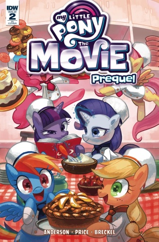 My Little Pony: The Movie Prequel #2 (10 Copy Cover)