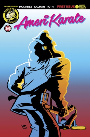 Amerikarate #1 (Kickloose Cover)