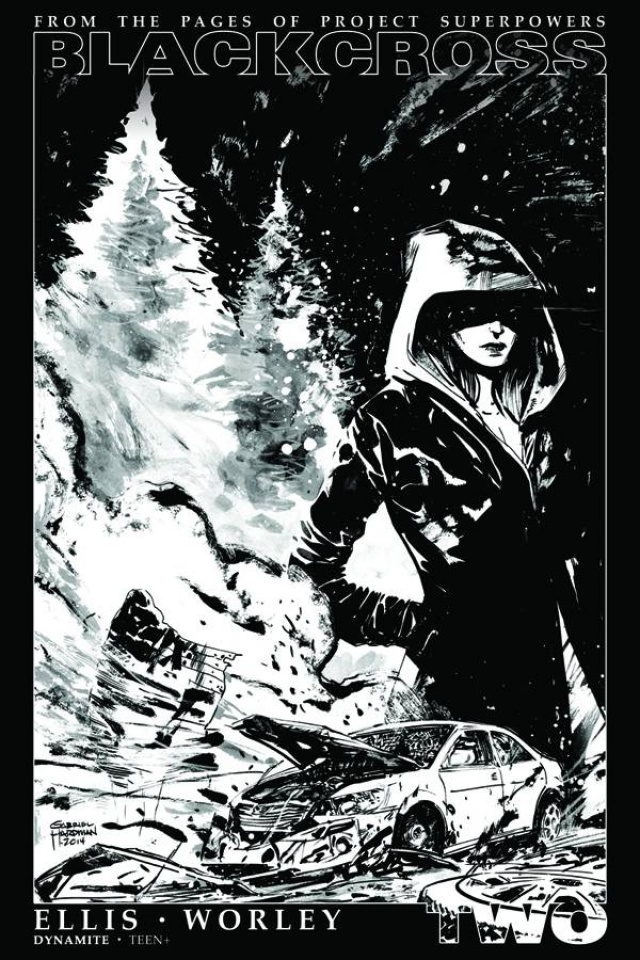 Blackcross #2 (35 Copy Hardman B&W Cover)