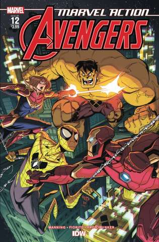 Marvel Action: Avengers #12 (Fiorito Cover)