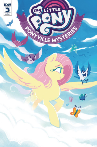 My Little Pony: Ponyville Mysteries #3 (10 Copy Babinska Cover)