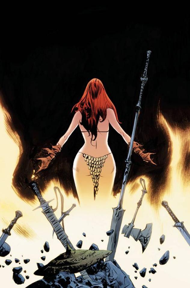 Red Sonja #26 (Lee Virgin Cover)