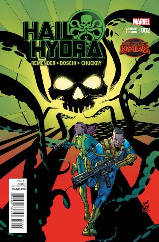 Hail Hydra #2 (Garney Cover)