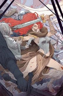 Red Sonja #5 (Rare Sauvage Virgin Art Cover)