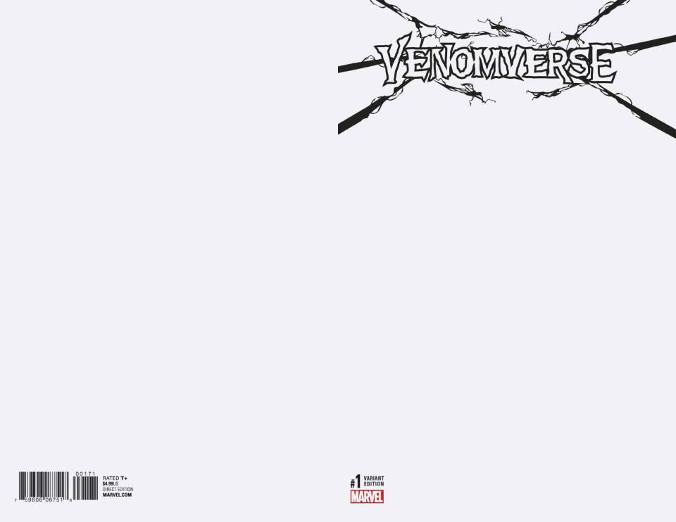 Venomverse #1 (Blank Cover)