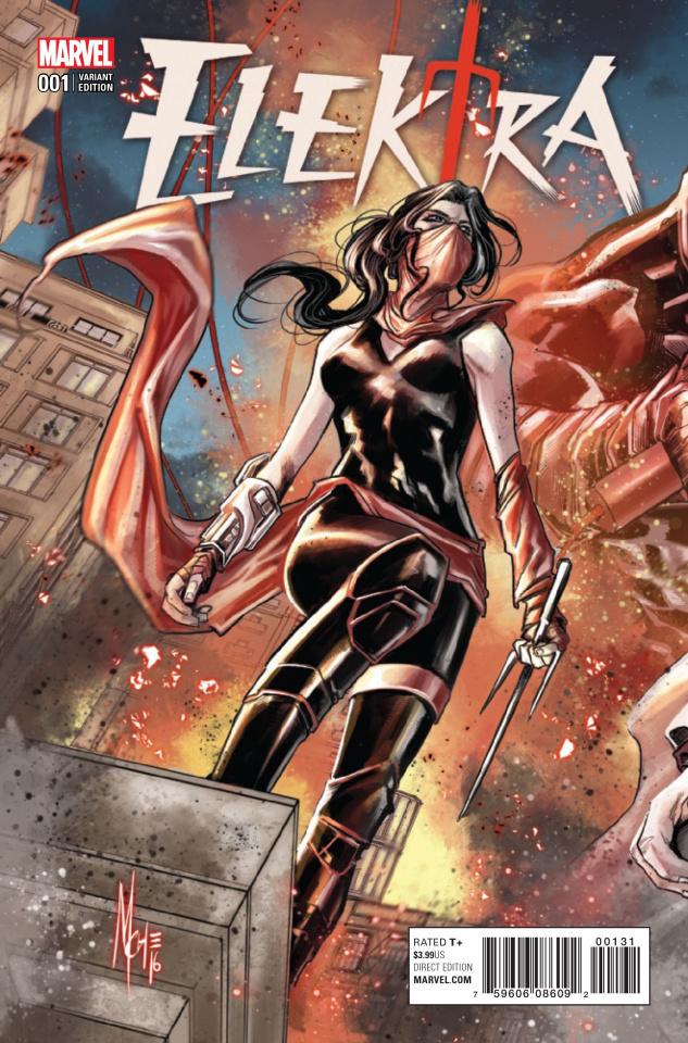 Elektra #1 (Checchetto Connecting Cover)