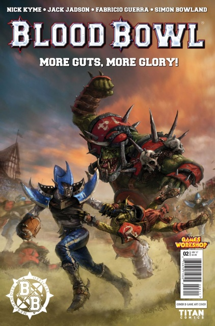 Blood Bowl: More Guts, More Glory! #2 (Game Cover)