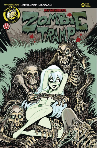 Zombie Tramp #66 (Baugh Cover)