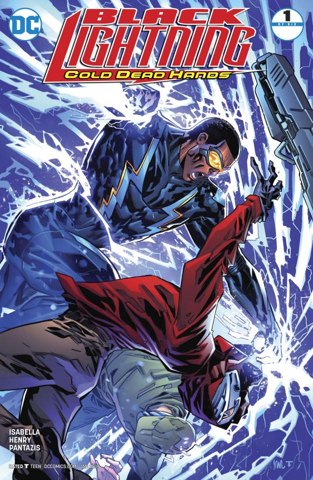 Black Lightning: Cold Dead Hands #1 (Variant Cover)