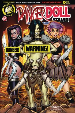 Danger Doll Squad: Galactic Gladiators #1 (McKay Risque Cover)