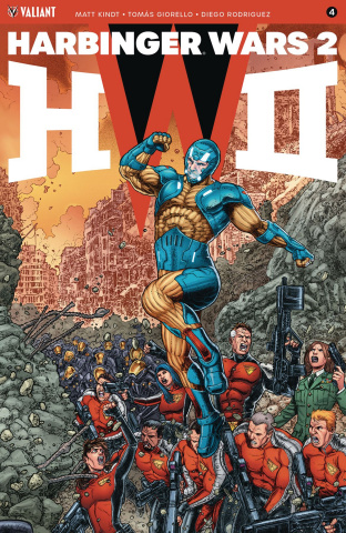 Harbinger Wars 2 #4 (20 Copy Interlocking Cover)