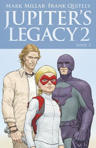 Jupiter's Legacy 2 #3 (Quitely Cover)