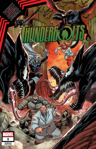 King in Black: Thunderbolts #1 (Ron Lim Cover)